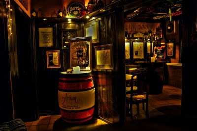 whiskey rollicecream