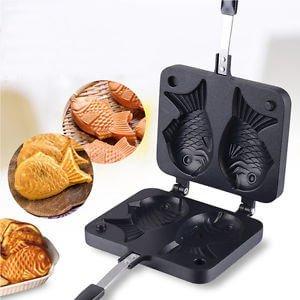 bubble puffle waffle Taiyaki pisces rollicecream.com
