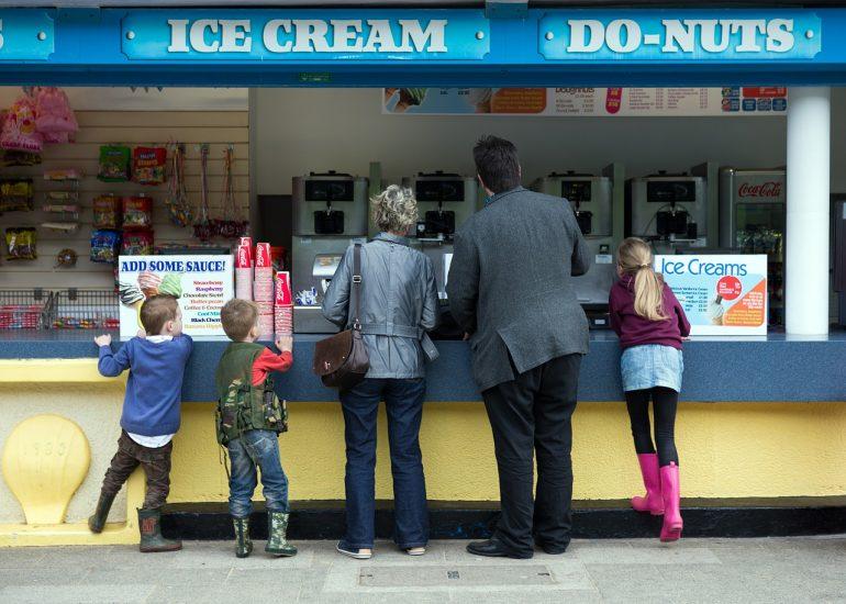 Ice Cream And Children